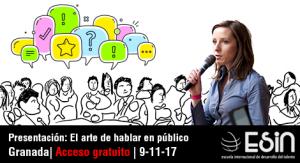 regilla hablar en publico